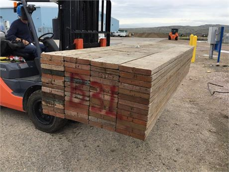 2 in. x 10 in. x 10 ft. lots of 52 Used Scaffold Planks