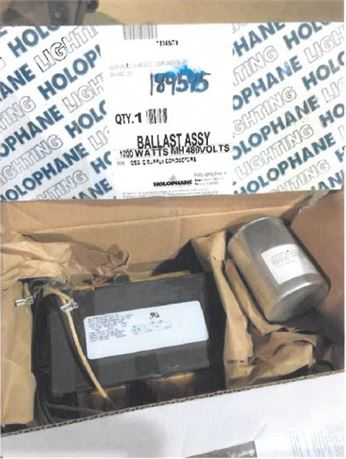 Holophane Ballast Assembly- QTY- 10